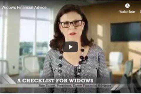 Checklist for Widows