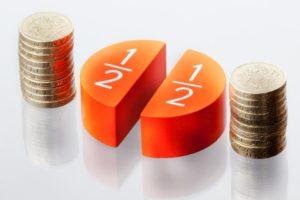 dividing the assets