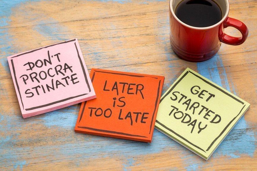 Learning to Avoid Procrastination