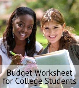 Budget Worksheet for College Students (1)