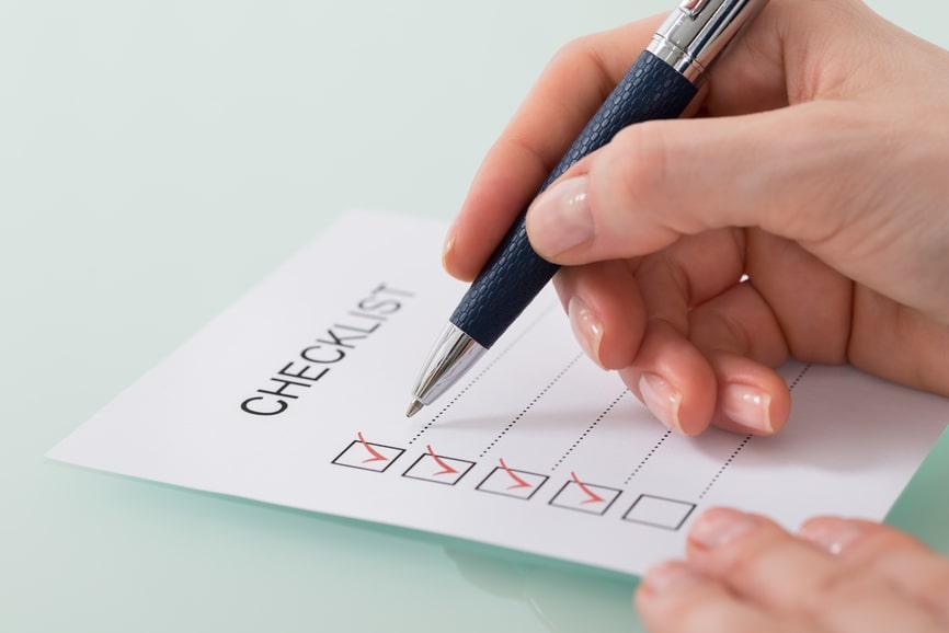 divorce checklist for women